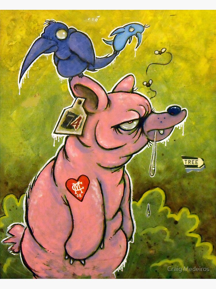 The PigBear Blues by mistertengu74