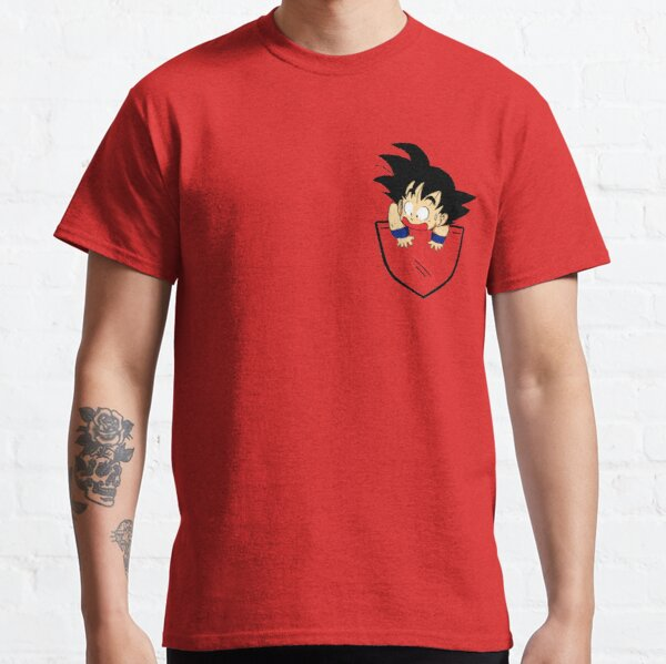 Pocket Goku Camiseta clásica