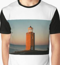 Avery Point Lighthouse Graphic T-Shirt