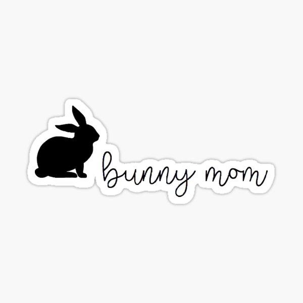 Maman lapin Sticker