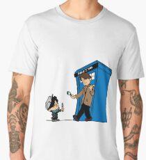 Sherlock and Who Men's Premium T-Shirt