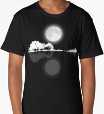Nature Guitar Night Long T-Shirt
