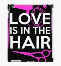 Present for hairdresser and hair lovers iPad Case/Skin