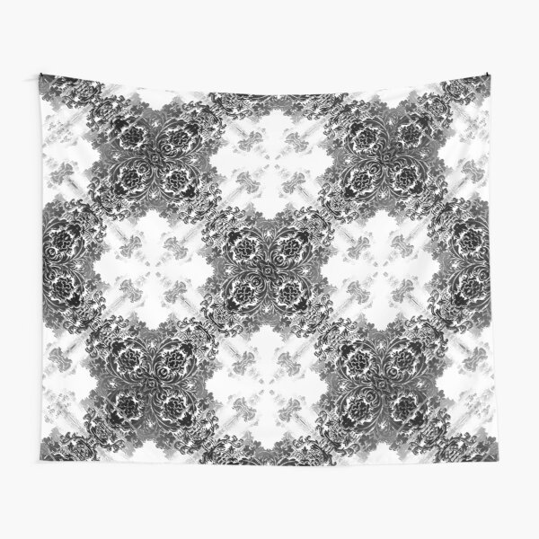ornament, decor, tracery, garniture, pattern, design, weave Tapestry