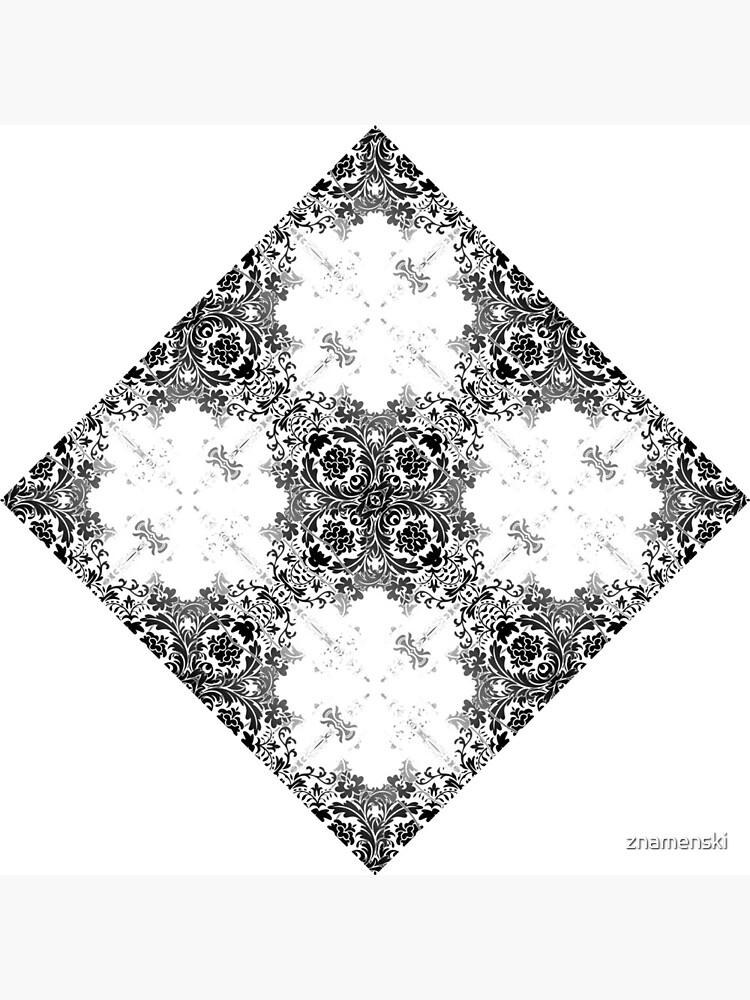 ornament, decor, tracery, garniture, pattern, design, weave by znamenski
