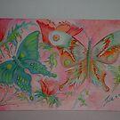 Dance of the Butterflies by Faith Coddington Krucina