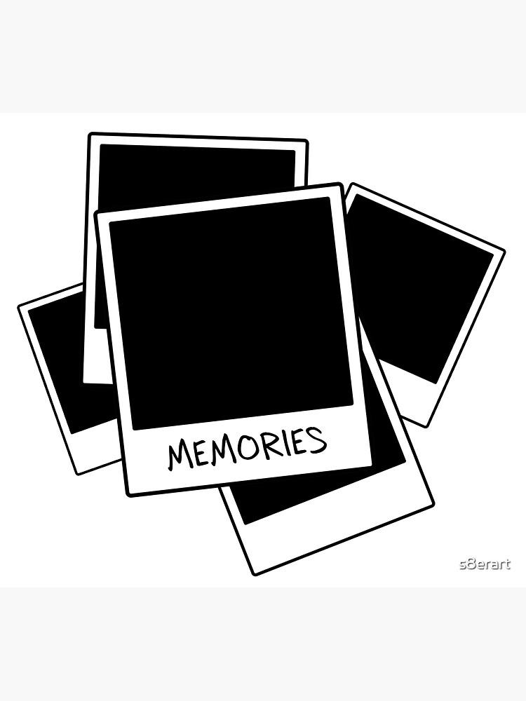 Memories - Polaroid Graphic Design by s8erart