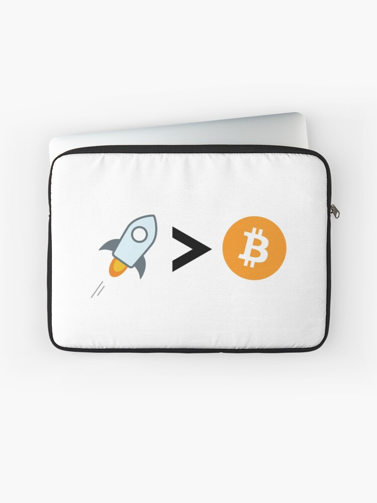 Stellar Lumens the best cryptocurrency, better than bitcoin | Laptop Sleeve