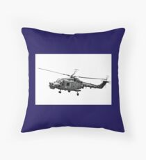 Royal Navy Helicopter........... Throw Pillow