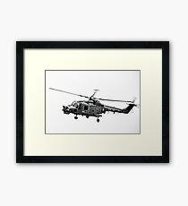 Royal Navy Helicopter........... Framed Print