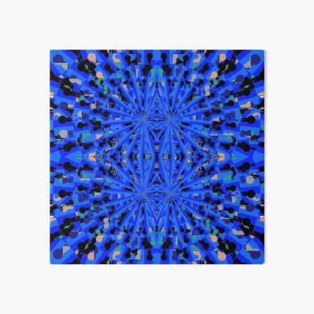 pattern, design, tracery, weave Art Board Print