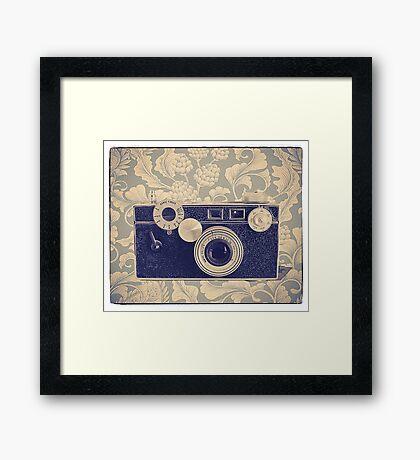 Argus Camera - Vintage Color Framed Print