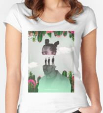 Cafe Tacuba - Recultura 011 Fitted Scoop T-Shirt