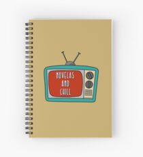 Telenovelas & Chill Spiral Notebook