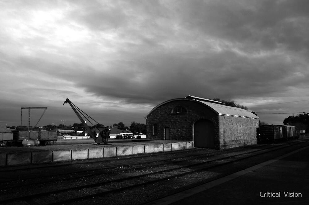Strathalbyn rail yards by Critical  Vision