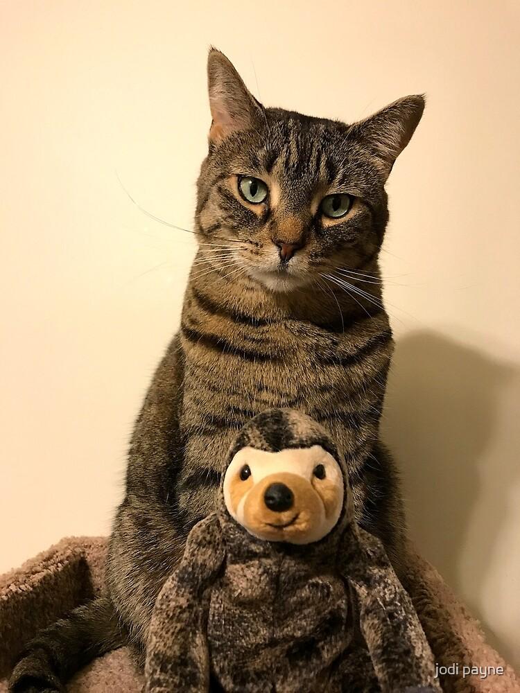 Tasha and her sloth by jodi payne