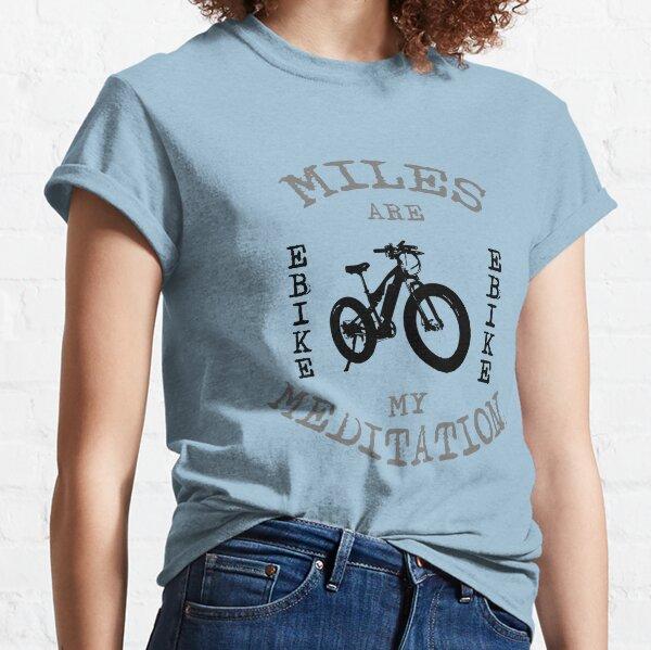 My Meditation eBike T-shirt Classic T-Shirt