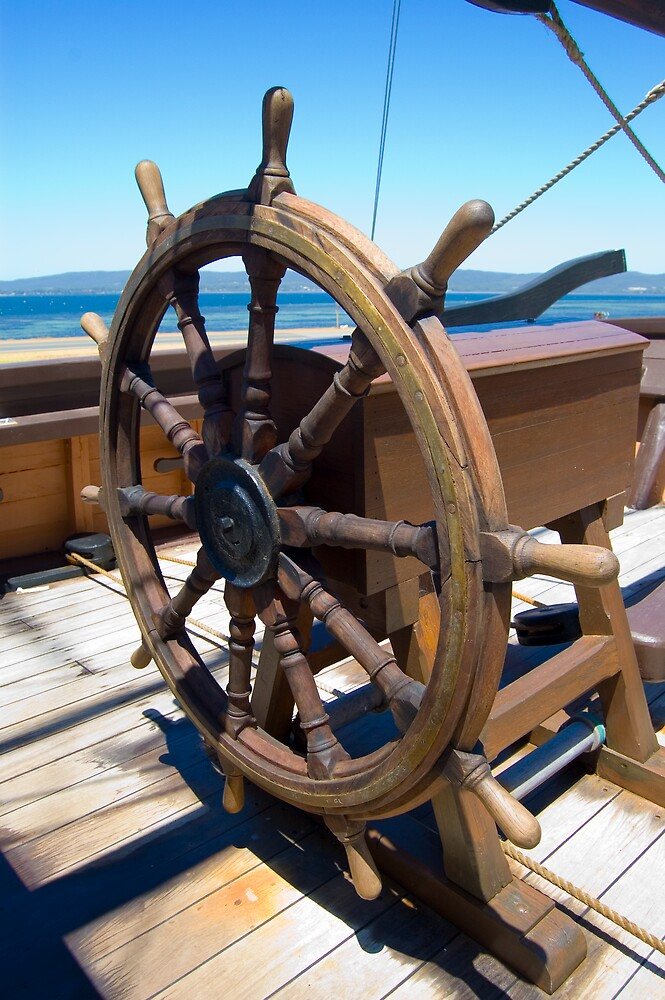 Nautical - The Helm by Hayley Solich