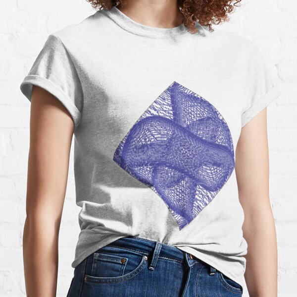 pattern, design, tracery, weave Classic T-Shirt