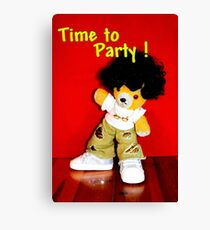 Time to Party Canvas Print