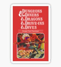 Dungeons & Diners & Dragons & Drive-Ins & Dives: Escape from Flavortown Sticker
