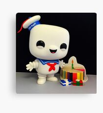 Stay Puft Birthday Canvas Print