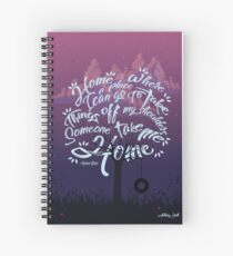 Home-Quote Spiral Notebook