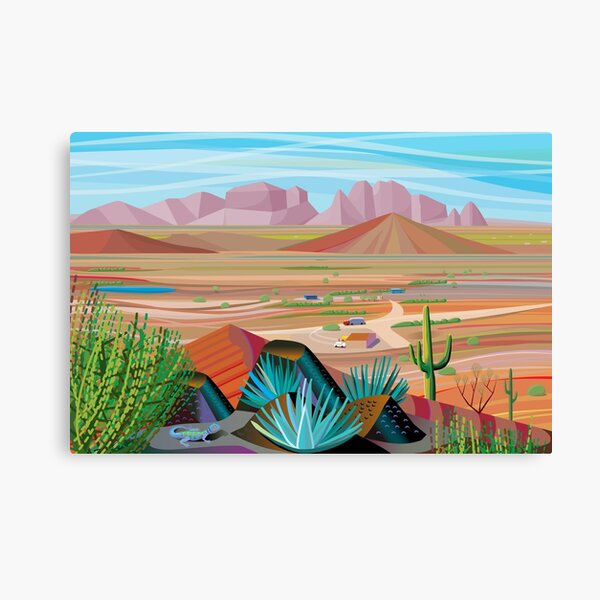La Pimeria Alta Canvas Print