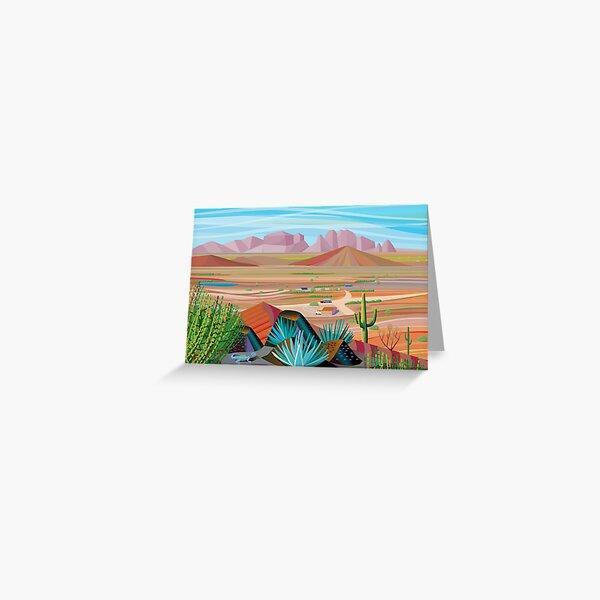 La Pimeria Alta Greeting Card