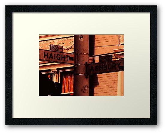Haight/Ashbury by Lynn  Gettman
