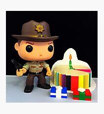 Rick Grimes Birthday Photographic Print