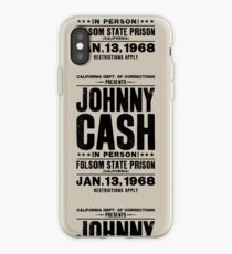 Johnny Cash at Folsom iPhone Case