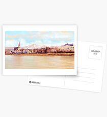 Ybbs an der Donau mit Oetscher Postcards