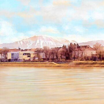 Ybbs an der Donau mit Oetscher by MenegaSabidussi