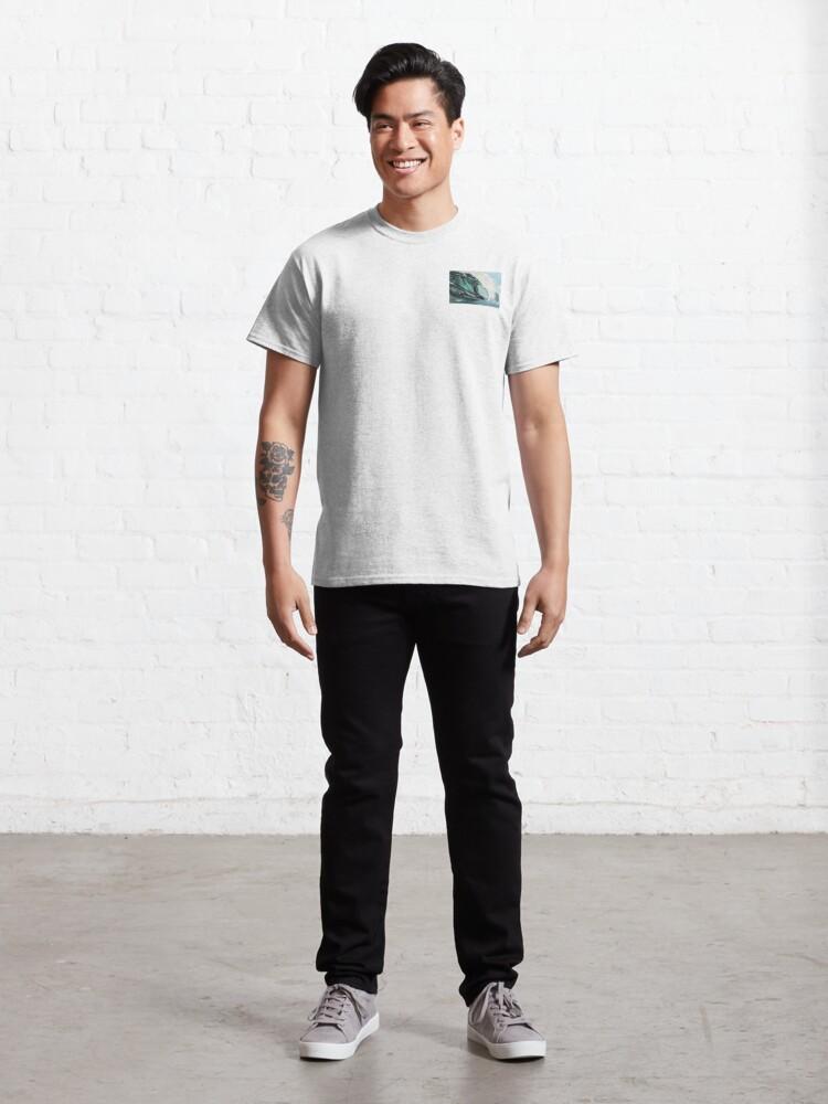 Alternate view of Ocean wave Classic T-Shirt