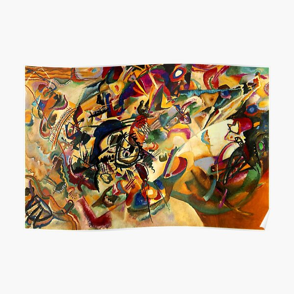 Kandinsky - Composition VII, abstract art Poster