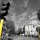 Via Dante, Milan by Stephen Knowles