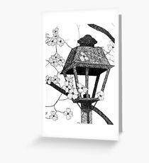 Narnia's Lamppost Greeting Card
