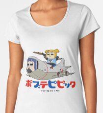 Popuko and Pipimi - Aerial Attack Women's Premium T-Shirt