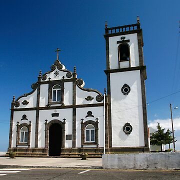 Church in Azores islands by gavila