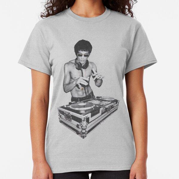 American Classics Bruce Lee White Gold T-Shirt Black