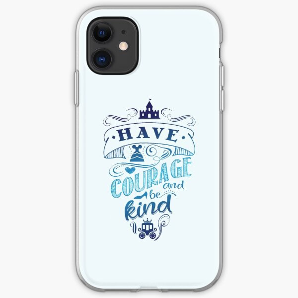 Courage and Kindness iPhone Soft Case