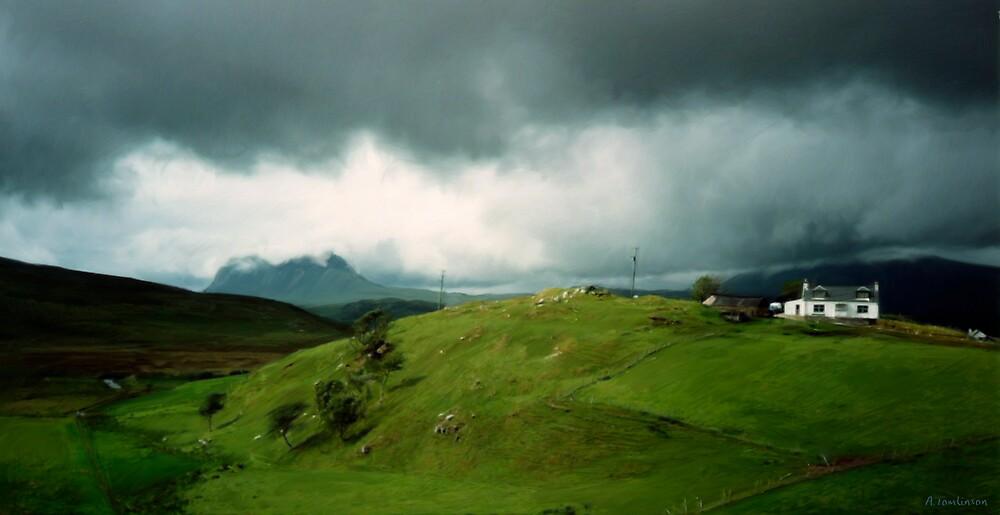Sutherland Landscape by alextomlinson
