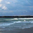 Duranbah afternoon surf by Annie Smit