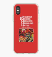 Vinilo o funda para iPhone Dungeons & Diners & Dragons & Drive-Ins & Dives: Escape from Flavortown