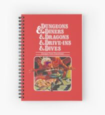 Cuaderno de espiral Dungeons & Diners & Dragons & Drive-Ins & Dives: Escape from Flavortown