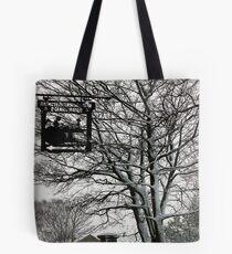 Bronte Parsonage in Snow Tote Bag