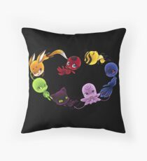 Miraculous Kwami Throw Pillow