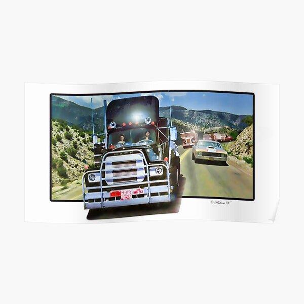 Peterbilt Kenworth Convoy Big Rig Mack Route 66 Keep on Truckin/' T-Shirt