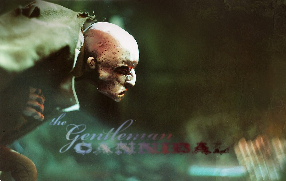 The Gentleman Cannibal: A Thief in Profile by jonhodgson